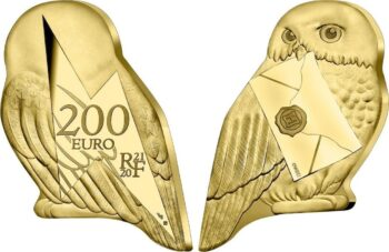 France 2021. 200 euro. Hedwige