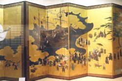 Lisbon, Museum Nacional de Arte Antiga, Japanese screen