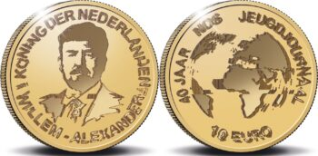 Netherland 2021. 10 euro. NOS Jeugdjournaal